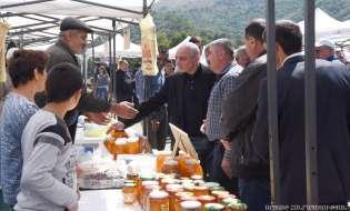 Արցախյան մեղրի փառատոն Քարվաճառ քաղաքում