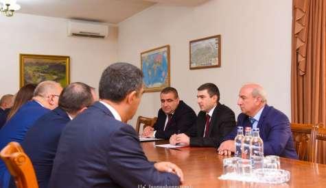 Հանդիպում ՀՀ ՀԾԿ հանձնաժողովի հետ