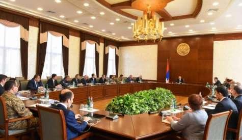 Բակո Սահակյանի նախագահությամբ տեղի է ունեցել նոր կորոնավիրուսի տարածումը կանխարգելող աշխատանքների համակարգման միջգերատեսչական հանձնաժողովի ընդլայնված նիստ