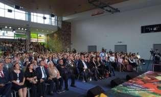Նախագահ Սահակյանը Դիլիջանում մասնակցել է միջազգային դպրոցի հիմնադրման 5-ամյակին եւ նոր եկեղեցու հիմնարկեքին