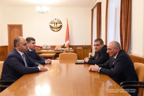 Meeting with chairman of the Armenian State Commission for the Protection of Economic Competition Gegham Gevorgyan
