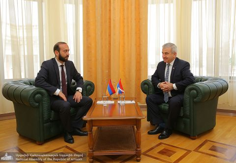 Artsakh Republic and RA Parliament Presidents Meeting