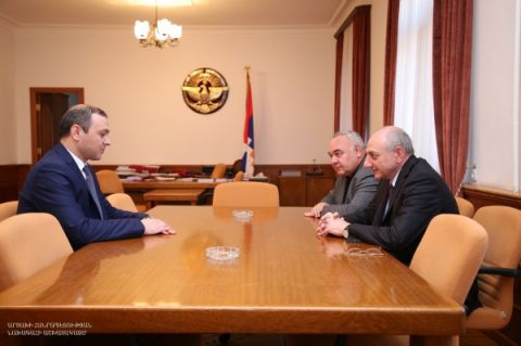 Meeting with secretary of the Republic of Armenia Security Council Armen Grigoryan