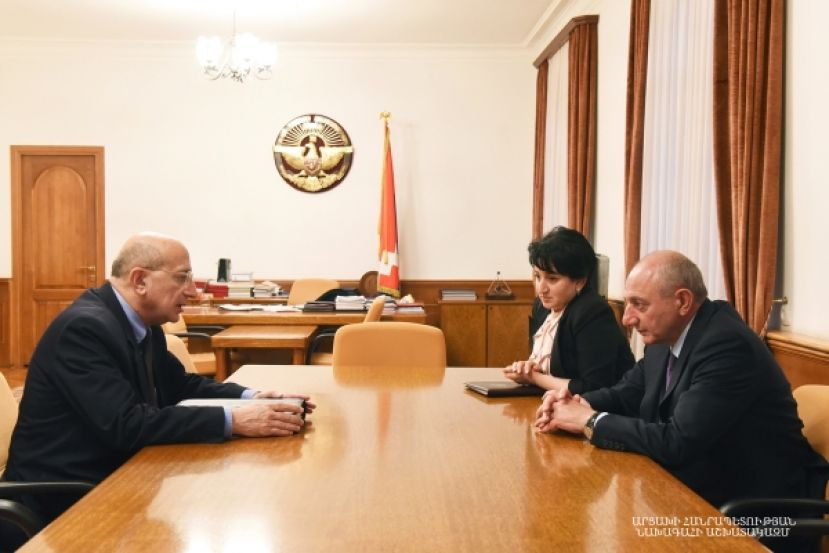 Meeting with chairman of the Statistical Committee of Armenia Stephan Mnatsakanyan