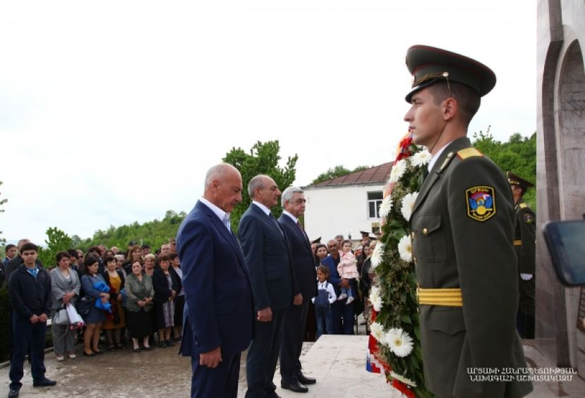 Solemn opening of the memorial and museum commemorating the perished freedom fighters in Kolkhozashen