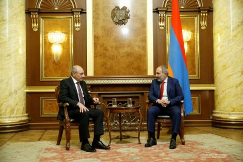 Meeting with Prime-minister of the Republic of Armenia Nikol Pashinyan