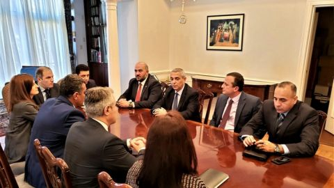 The Working Visit of Artsakh Foreign Minister Masis Mayilian to the USA has Started