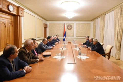 Meeting with the delegation of the Yerevan State Medical University