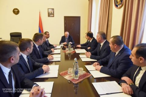 Meeting with senior personnel of Investigation Committee of the Artsakh Republic