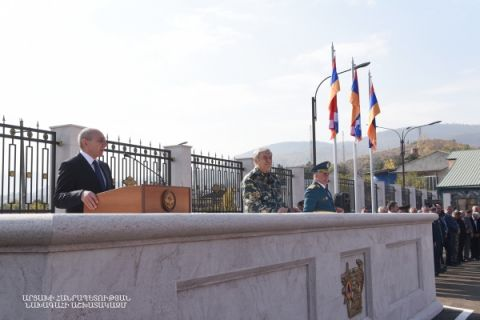 Solemn event devoted to the Day of the Worker of the State Service on Emergency Situations