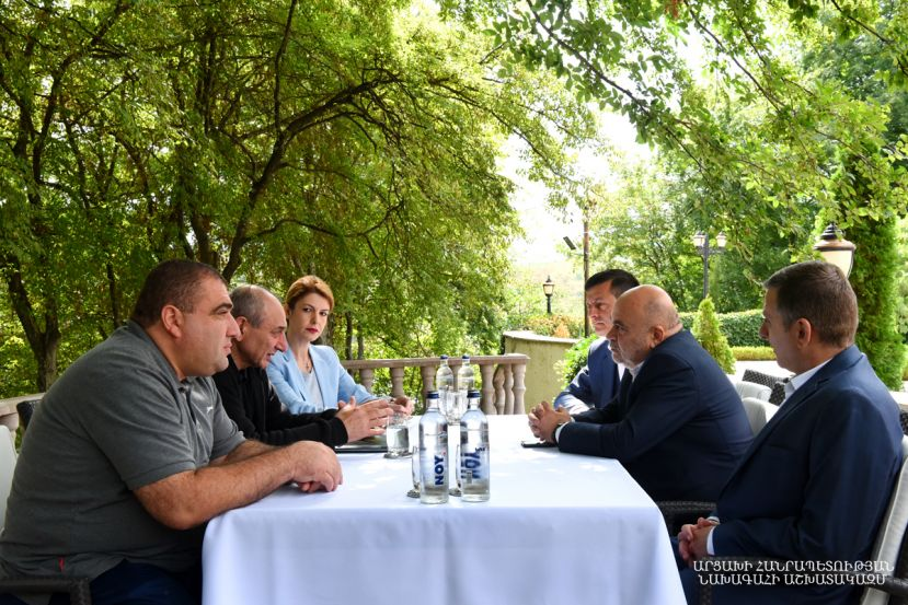 Meeting with the delegation of the Television and Radio Commission of the Republic of Armenia