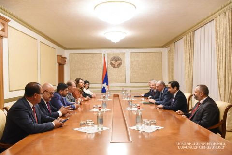President Bako Sahakyan received a group of the French National Assembly deputies