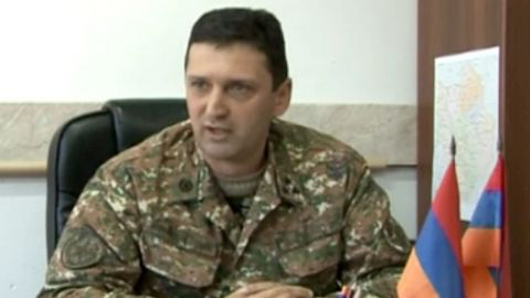 Jalal Haroutyunyan was conferred the rank of major-general