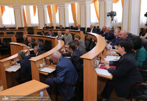Regular Sitting of the Artsakh Republic National Assembly