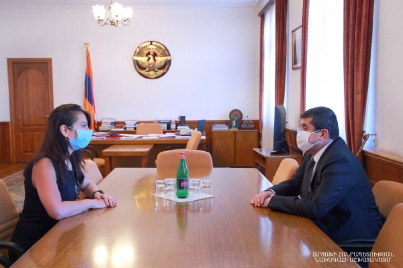 President Harutyunyan received Deputy of the Armenian National Assembly Kristine Poghosyan