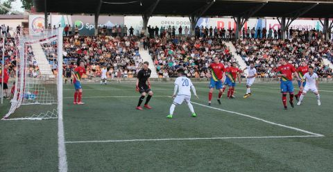 The Football match between Artsakh and Sapmi  ended with a score of  3-2 in favor  of Artsakh