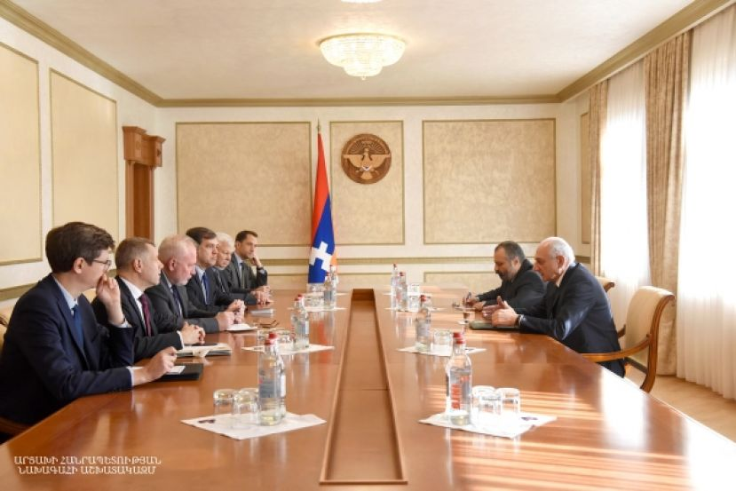 Artsakh Republic President received OSCE Minsk Group co-chairs