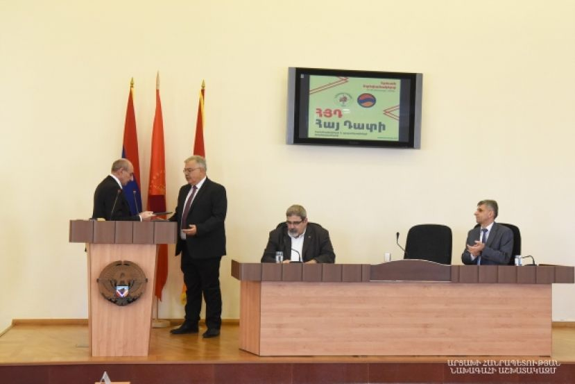 Opening of the conference of the ARF Hay Dat committees and offices launched in Stepanakert