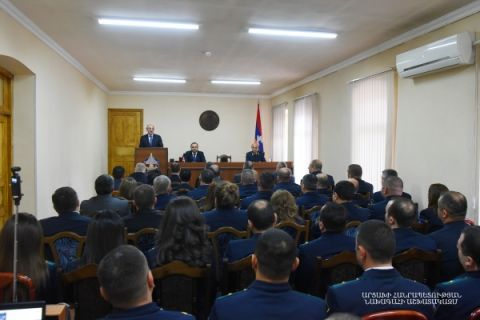 Solemn event dedicated to the Day of Public Prosecutor