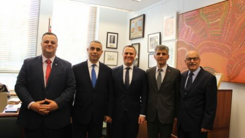 Political Meetings of the Artsakh Republic Delegation in the Australian Parliament Continue