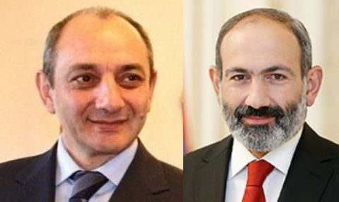 Congratulatory message to Nikol Pashinyan