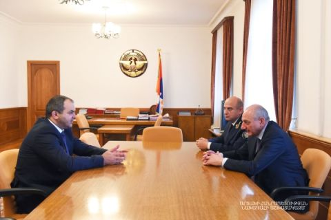 Meeting with attorney-general of the Republic of Armenia Arthur Davtyan