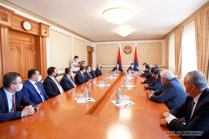 ENLARGED WORKING CONSULTATION WITH THE REPRESENTATIVES OF THE ARMENIA AND ARTSAKH BANK SYSTEMS