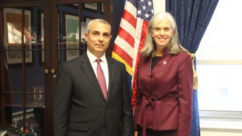 Masis Mayilian Met with the U.S. Congressmen