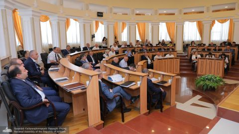 Republic of Artsakh NA Adopted a Number of Laws at the Final Sitting