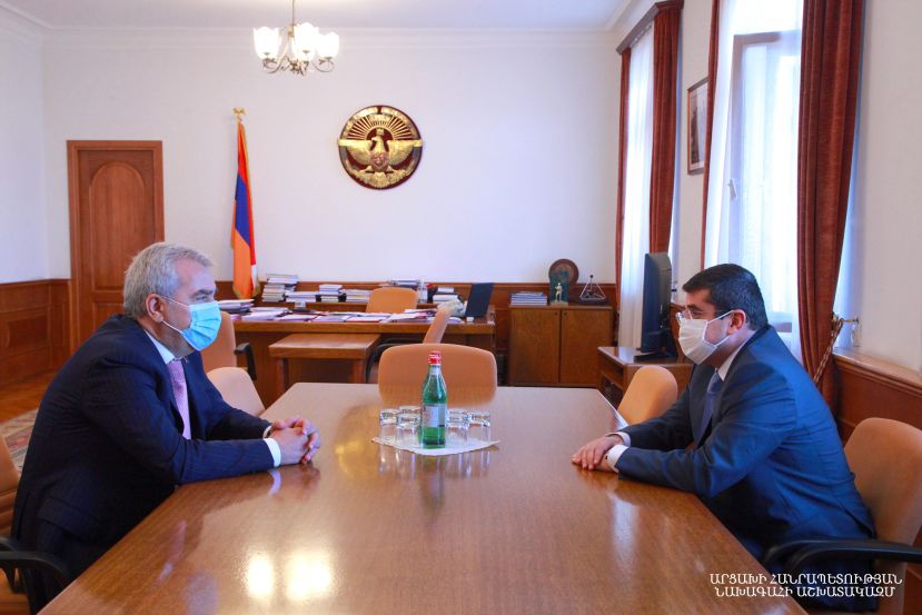 President Harutyunyan received chairman of the Standing Committee on Defense and Security of the Armenian National Assembly Andranik Kocharyan