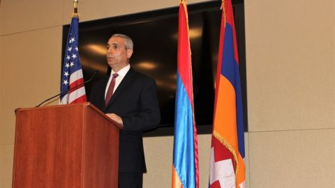 Foreign Minister of the Republic of Artsakh Masis Mayilian Delivered a Speech in the U.S. Congress