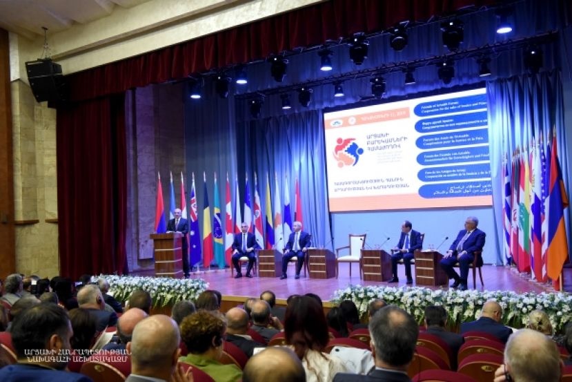 "Opening of the ""Cooperation for Justice and Peace"" conference"