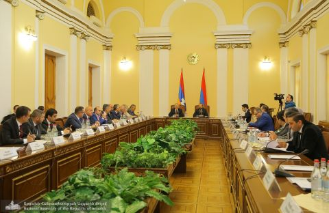 Inter-Parliamentary Committee on Cooperation between the National Assembly of the Republic of Artsakh and the National Assembly of the Republic of Armenia Sitting