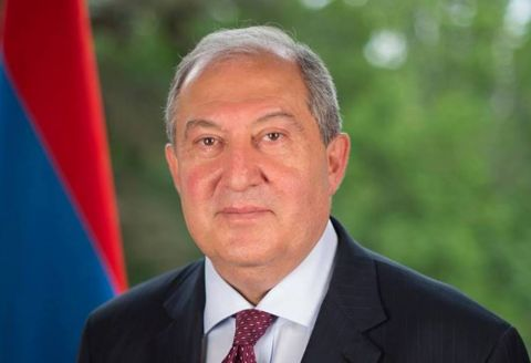 President Bako Sahakyan sent a congratulatory letter to President of the Republic of Armenia Armen Sargsyan