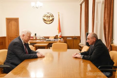 Meeting with Personal Representative of the OSCE Chairperson-in-Office Andrzej Kasprzyk
