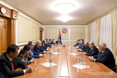 Meeting with the delegation of the Armenian National Assembly