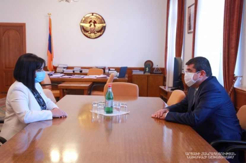 President Harutyunyan received deputy of the Armenian National Assembly Tagouhi Tovmasyan