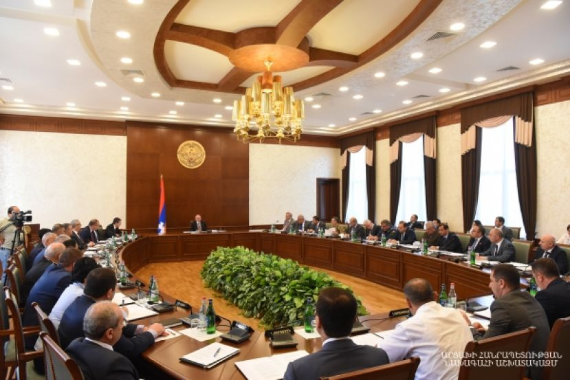 Bako Sahakyan chaired the Government's meeting