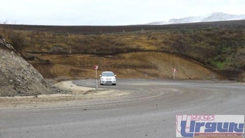 MATAGHIS ROAD ASPHALTED WITH ALL-ARMENIAN EFFORTS