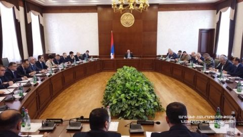 President chaired the Government's meeting