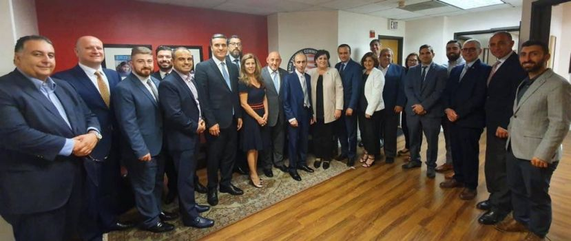 Artak Beglaryan discussed cooperation programs with Los Angeles authorities and Armenian organizations