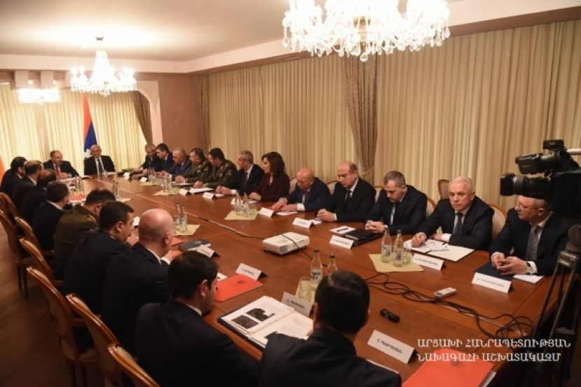 Joint meeting of the Security Councils of the two Armenian republics