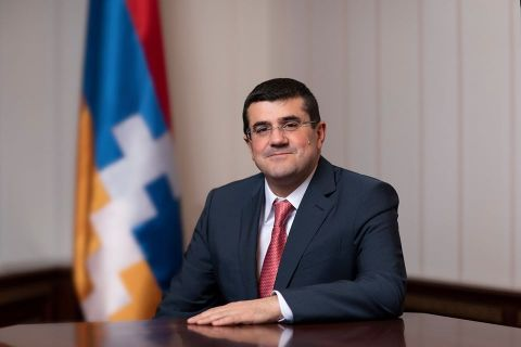 Arayik Harutyunyan sent a congratulatory address in connection with the Day of the First Armenian Republic