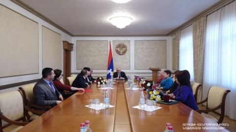 President Sahakyan handed in state awards and certificates of honorary titles