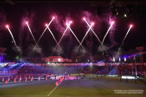 OPENING 7TH PAN-ARMENIAN GAMES