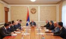 President Bako Sahakyan convoked a consultation