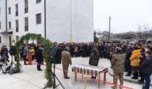Solemn housewarming ceremony for families of the Defense Army servicemen and reserve officers