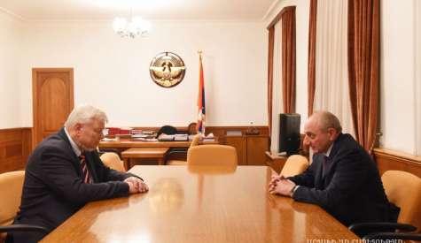 Artsakh Republic President Bako Sahakyan received personal representative of the OSCE Chairperson-in-Office, Ambassador Andrzej Kasprzyk