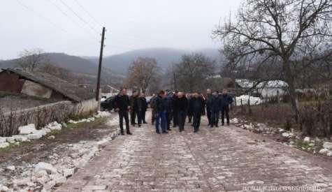 Working visit to the Martakert region
