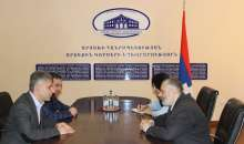 Foreign Minister of Artsakh Received Representatives of the ARF Dashnaktsutyun Supreme Body of Armenia and Central Committee of Artsakh